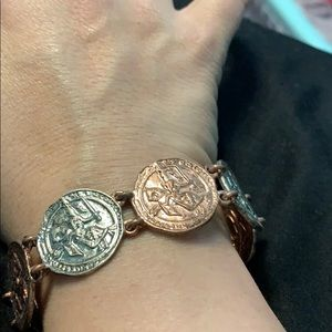 Jewelmint coin bracelet
